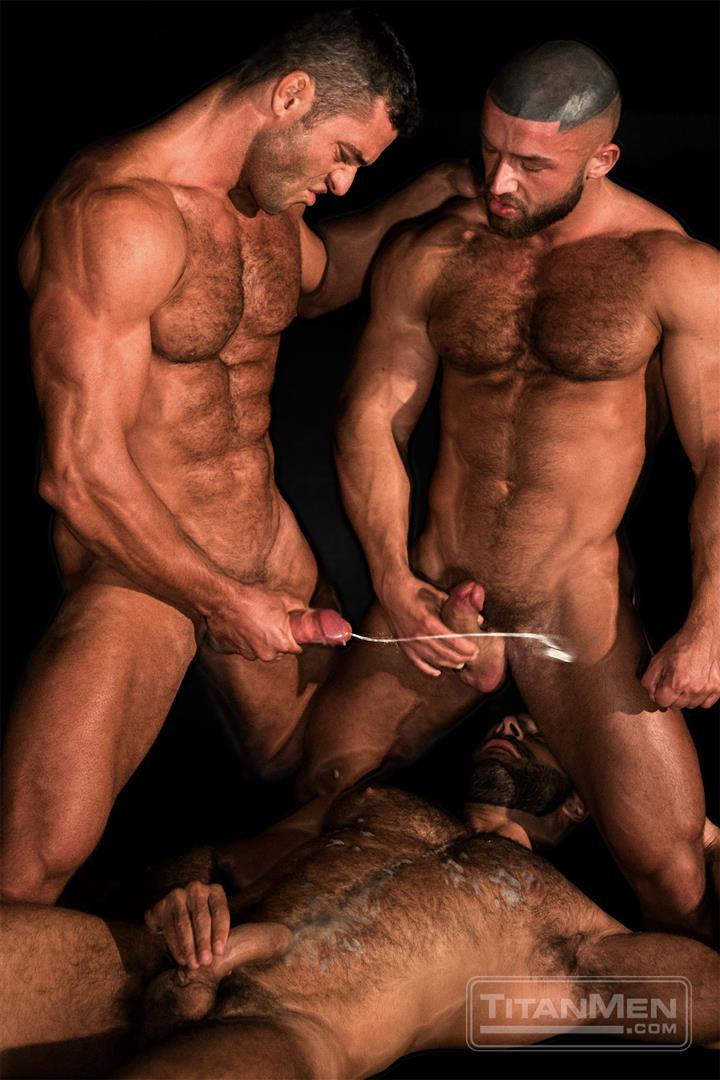 gay hunks cum shot