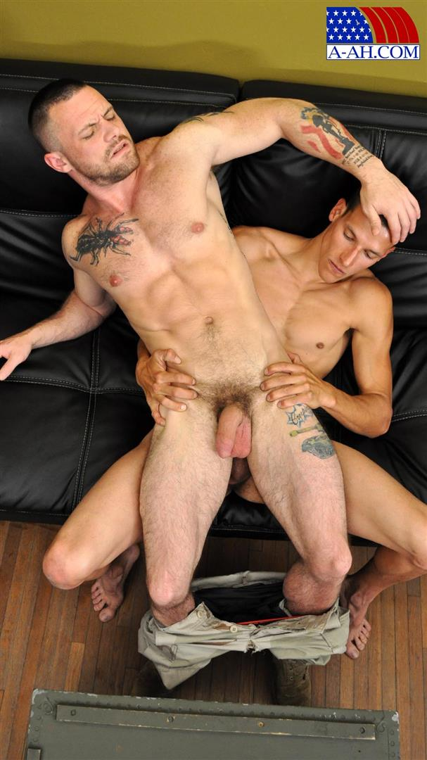 All-American-Heroes-Navy-Petty-Officer-Eddy-fucking-Army-Sergeant-Miles-Big-Uncut-Cock-Amateur-Gay-Porn-11 Navy Petty Officer Fucks A Muscle Army Sergeant