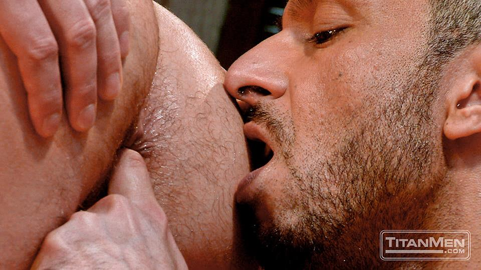 Titan-Media-Adam-Champ-and-Donnie-Dean-Hairy-Muscle-Bear-With-Big-Uncut-Cock-Fucking-Amateur-Gay-Porn-15 Hairy Muscle Bear Adam Champ Fucking A Tight Ass With His Big Uncut Cock
