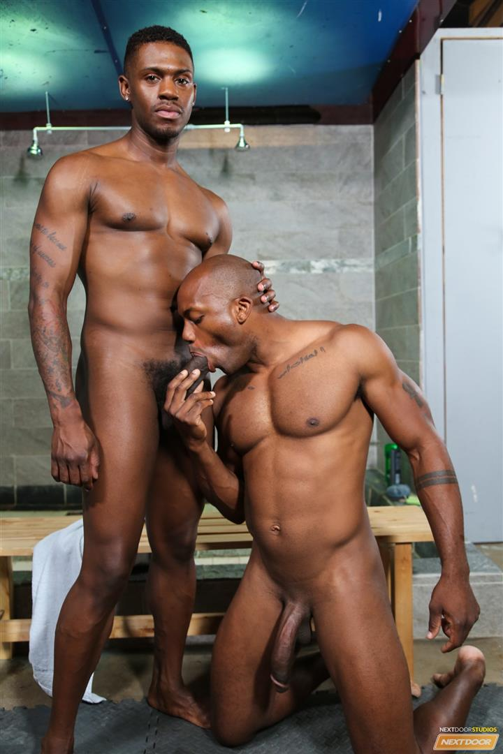 Ebony gay sex video