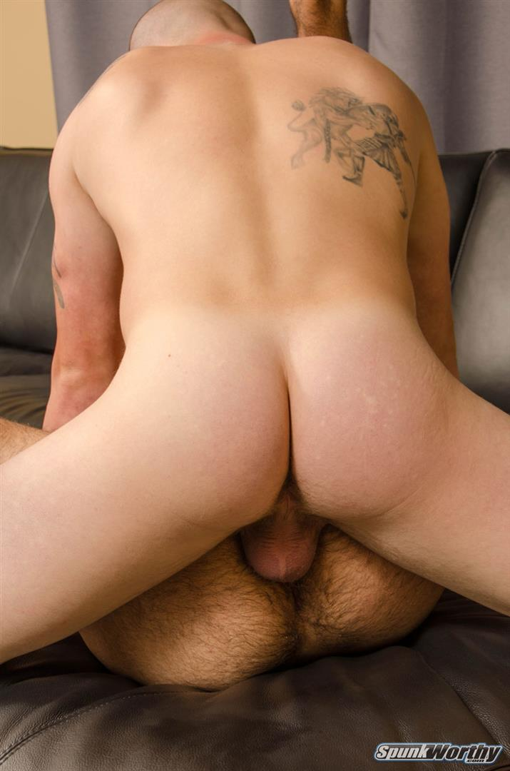 SpunkWorthy-Landon-and-Eddie-Straight-Army-Guy-Fucks-His-First-Ass-Amateur-Gay-Porn-16 Straight Army Hunk Barebacks His First Man Ass