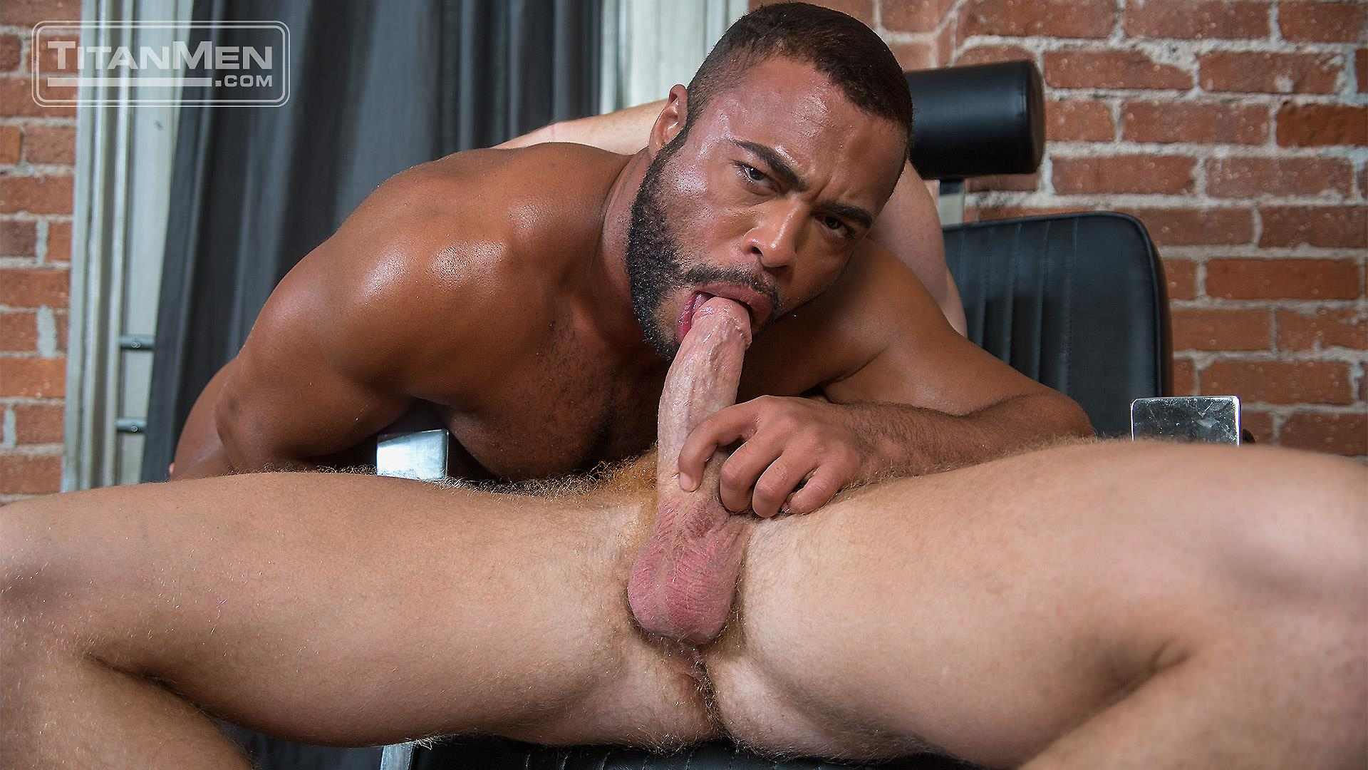 hunks interracial porn