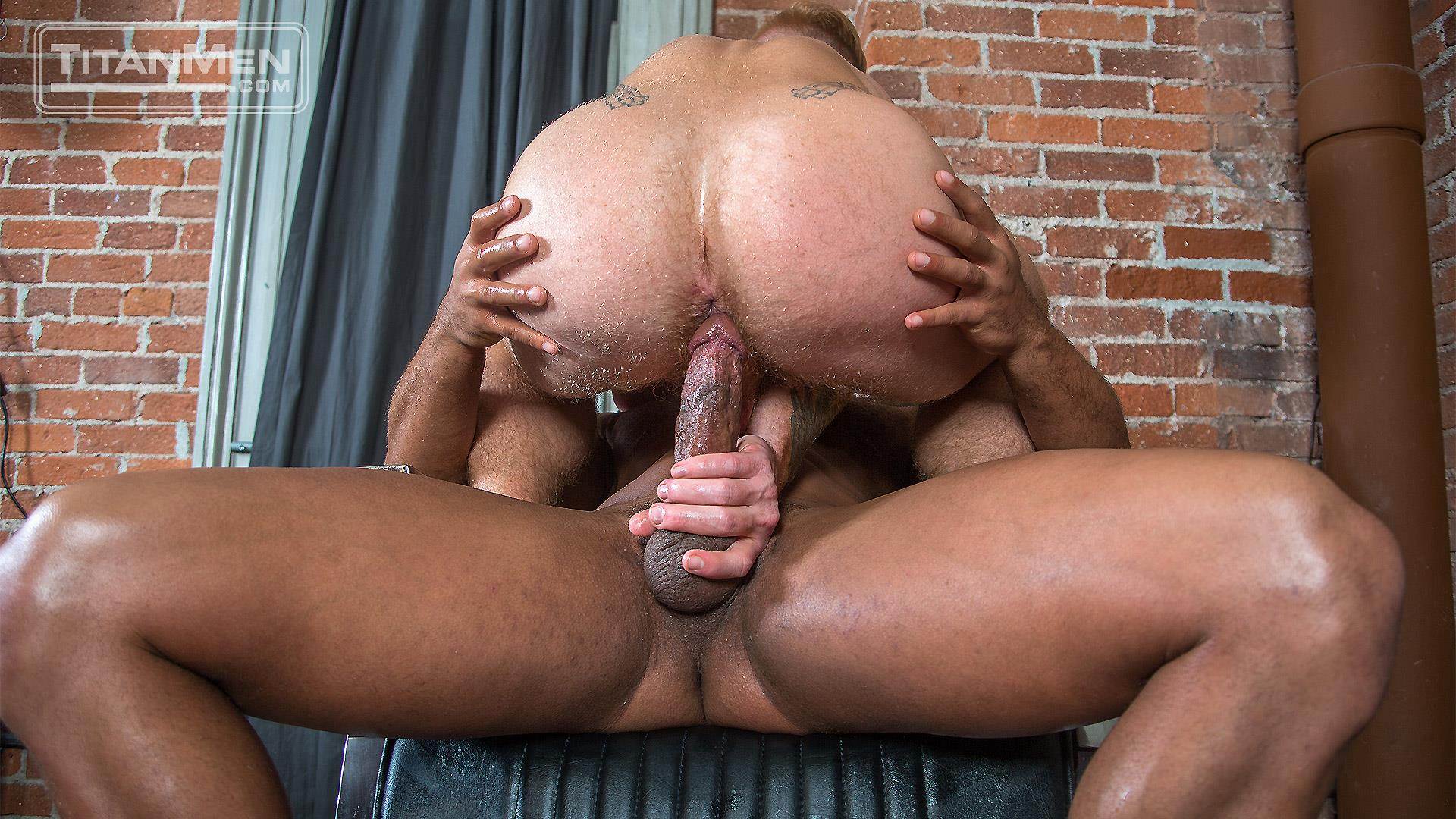 TitanMen-Micah-Brandt-and-Bennett-Anthony-Interracial-Muscle-Hunks-Flip-Fucking-Amateur-Gay-Porn-16 Micah Brandt and Bennett Anthony Flip-Fucking With Their Big Dicks