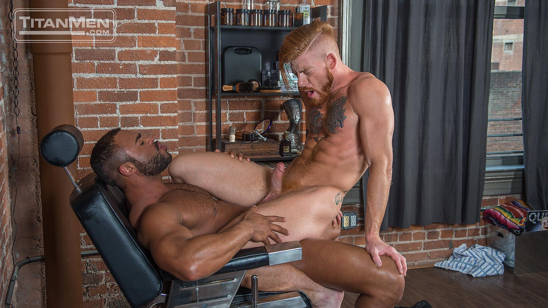TitanMen-Micah-Brandt-and-Bennett-Anthony-Interracial-Muscle-Hunks-Flip-Fucking-Amateur-Gay-Porn-19 Micah Brandt and Bennett Anthony Flip-Fucking With Their Big Dicks