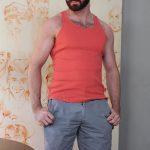 Hot-Older-Male-Brendan-Patrick-Hairy-Dad-Naked-Amateur-Gay-Porn-02-150x150 Hairy Muscular Daddy Conor Harris Barebacks Brendan Patrick