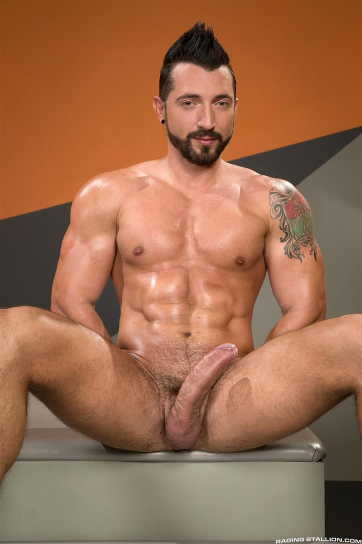 Raging-Stallion-Jimmy-Durano-and-XL-Interracial-Gay-Sex-Video-Free-02 Jimmy Durano Fucks XL's Black Ass With His Big Fat Cock