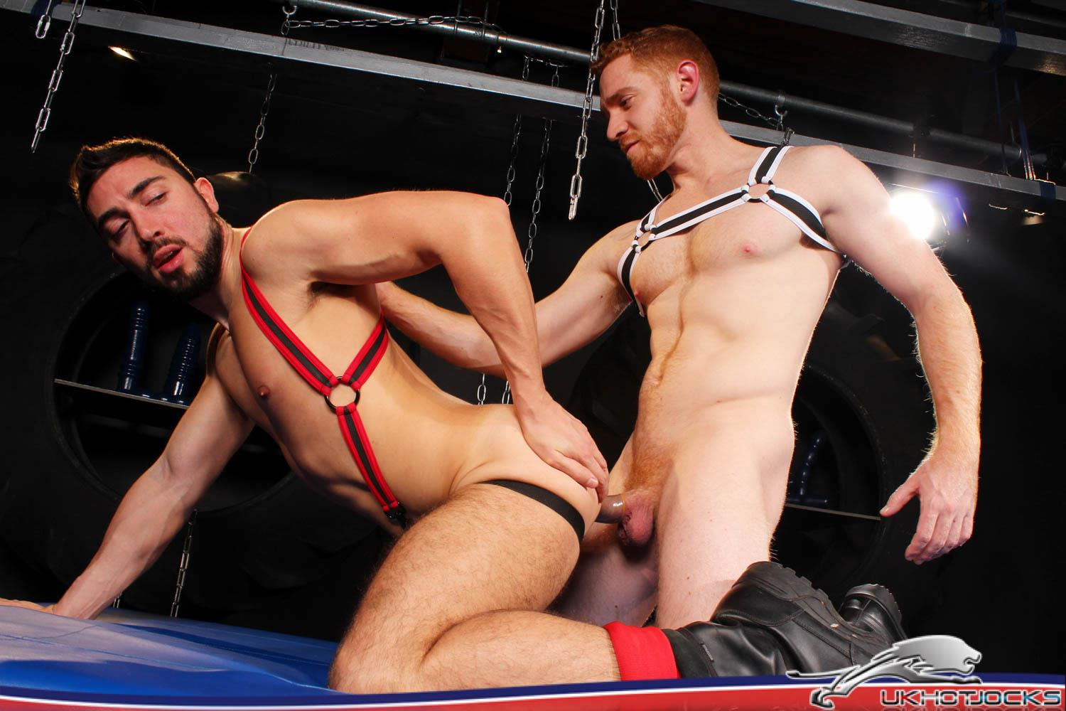 UK-Hot-Jocks-Gaston-Croupier-and-Leander-Big-Uncut-Ginger-Cock-20 Gaston Croupier Takes Leander's Big Uncut Cock And A Huge Dildo!