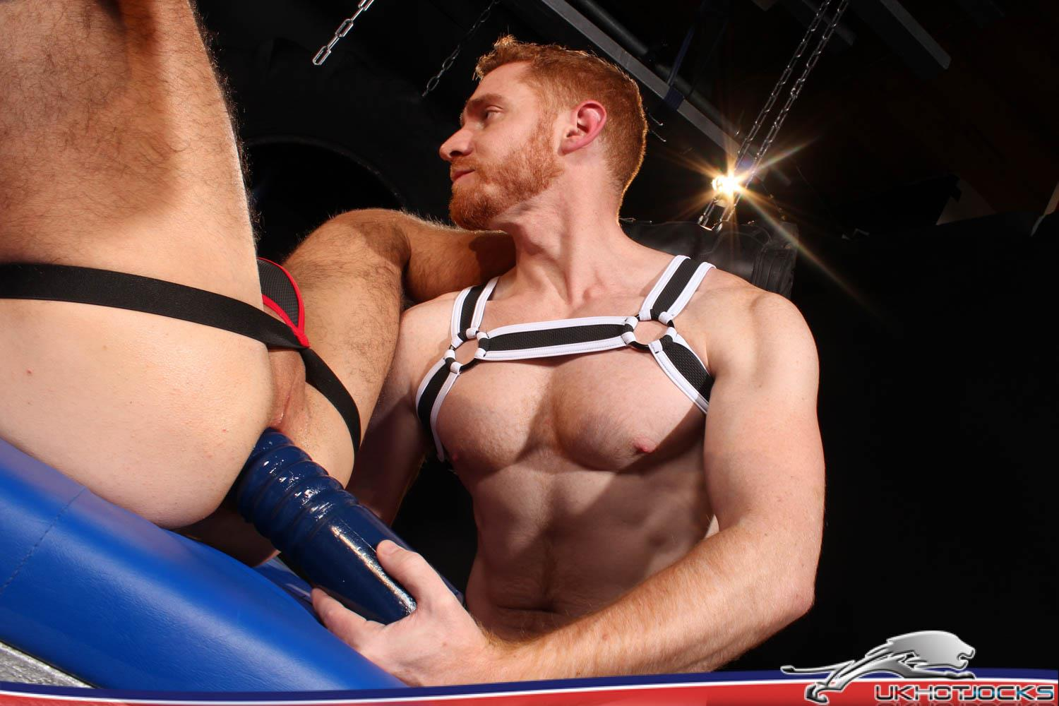 UK-Hot-Jocks-Gaston-Croupier-and-Leander-Big-Uncut-Ginger-Cock-27 Gaston Croupier Takes Leander's Big Uncut Cock And A Huge Dildo!