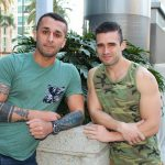 Active-Duty-Mathias-and-Laith-Inkley-Naked-Marines-Bareback-Sex-Video-04-150x150 Muscular Marines First Time Bareback Sex Video