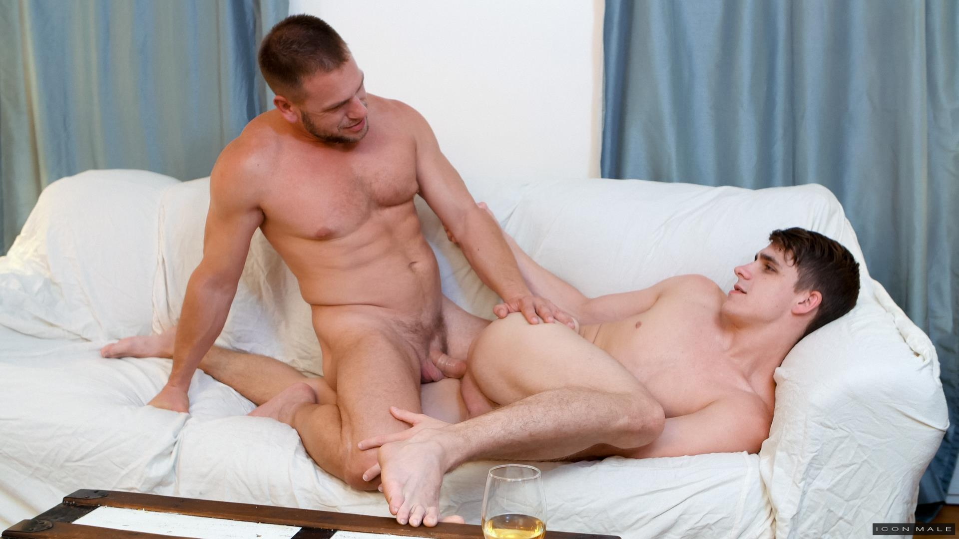 Icon-Male-Kory-Houston-and-Hans-Berlin-DILF-fucks-Twink-09 My Professor Fucked Me In The Ass With His Big Uncut Cock