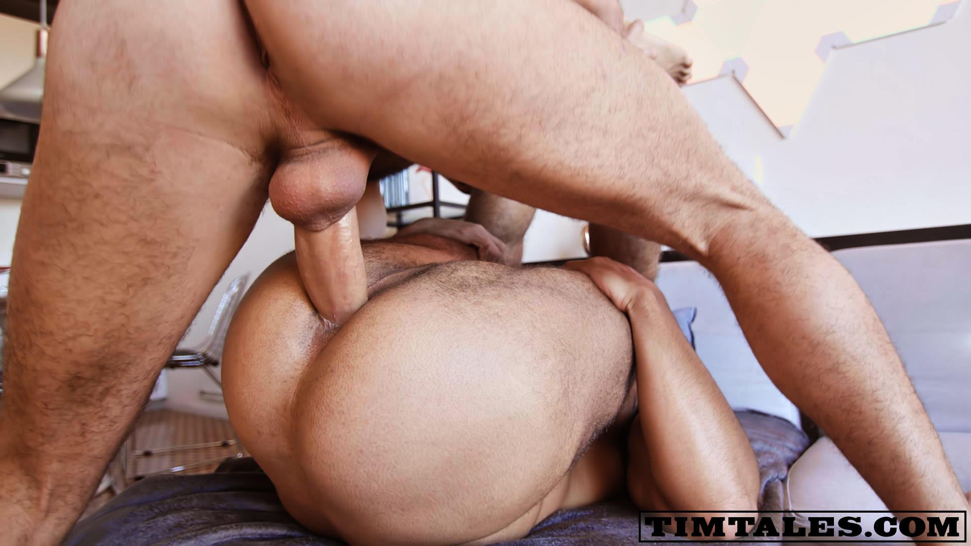 TimTales-Adam-Sahar-and-Louis-Ricaute-Hairy-Muscle-Bareback-Sex-Video-13 TimTales: Adam Sahar Breeding Hairy Muscle Bear Louis Ricaute With His Big Uncut Cock
