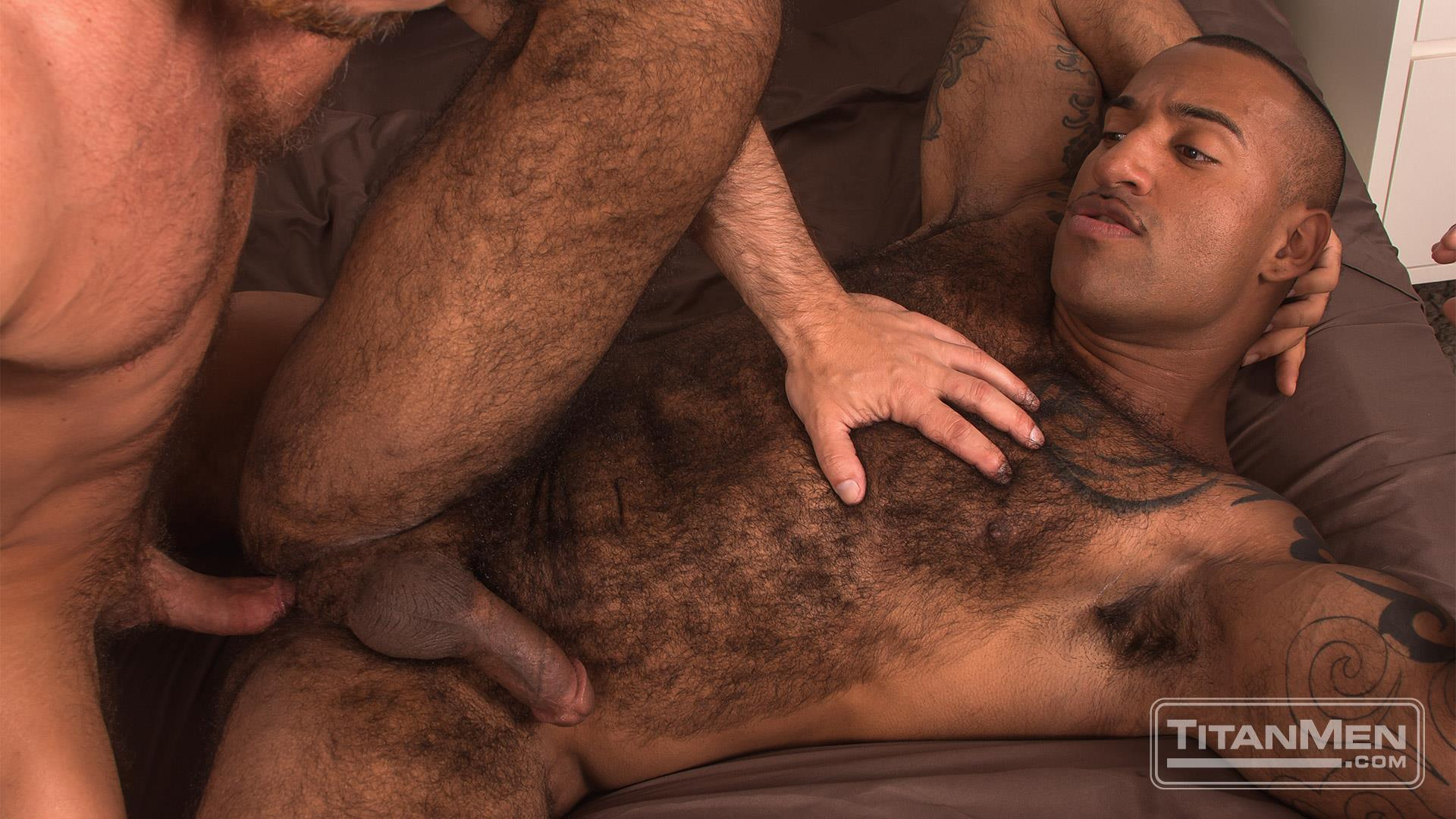 Titan-Men-Dirk-Caber-and-Daymin-Voss-Hairy-Muscle-Daddy-and-Big-Black-Dick-Fucking-50 Hairy Muscle Daddy Dirk Caber Flip Fucking With Hairy Black Muscle Hunk Daymin Voss