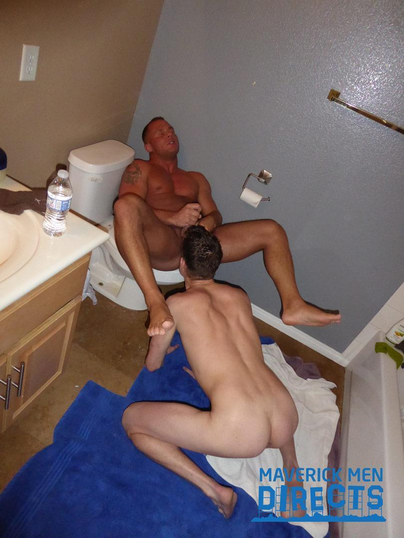 Maverick-Men-Directs-Big-Dick-Daddy-Fucking-A-Twink-In-The-Shower-Gay-Sex-07 Muscle Daddy Breeds His Sexy Twink Boy In The Shower