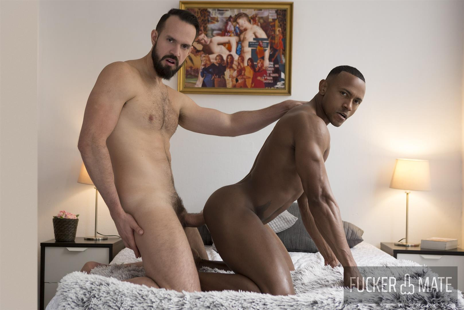 Fuckermate-Andy-Onassis-and-Santi-Konnor-Thick-Uncut-Cock-Brazilian-Bareback-Gay-Sex-12 Power Top Andy Onassis Breeds Santi Konnor With His Thick Uncut Cock