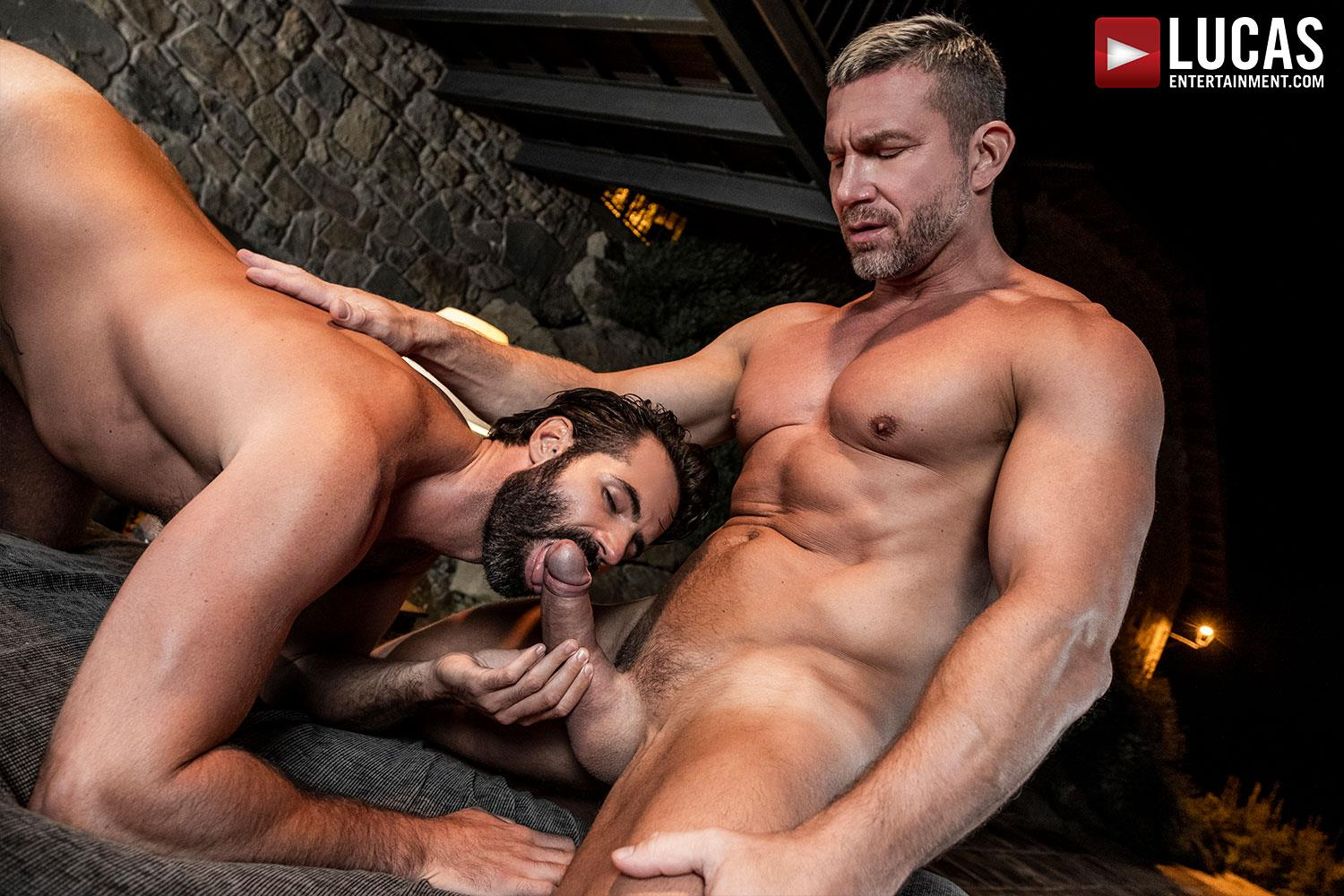 Lucas-Entertainment-Tomas-Brand-and-Dani-Robles-Big-Dick-Daddy-Barebacking-Younger-10 Muscle Daddy Tomas Brand Breeds Dani Robles With His Big Uncut Cock