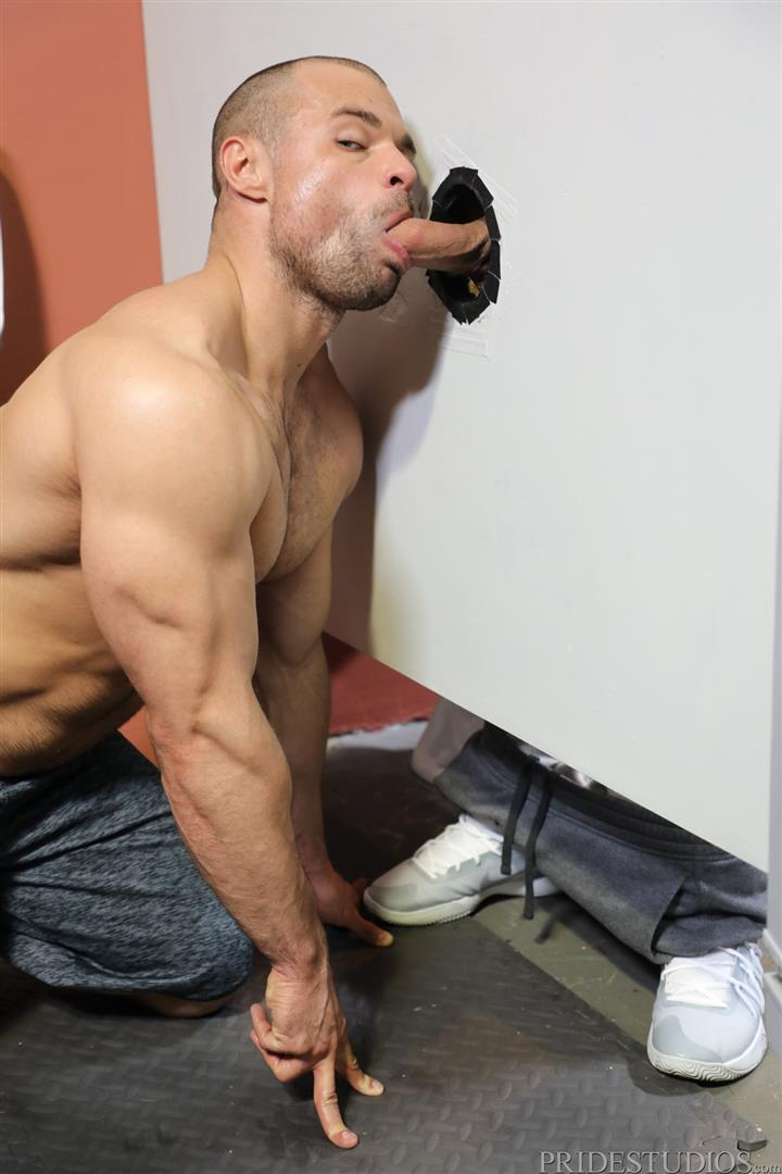 Men-Over-30-Ricky-Larkin-and-Jaxx-Thanatos-Sucking-and-Fucking-At-A-Glory-Hole-06 Hairy Muscle Hunk Jaxx Thanatos Sucks Cock And Gets His Ass Fucked Through A Glory Hole